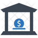 Bank Savings Cash Icon