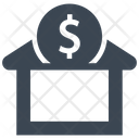 Bank Deposit Savings Icon