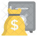 Bank Deposit Locker Icon