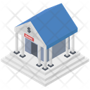 Bank Depository Building Icon