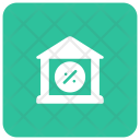Bank discount Icon