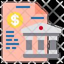 Document Banking Finance Icon