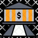 Financial Exchequer Bursary Icon