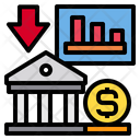 Graph Bank Currency Icon