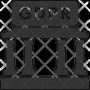 Gdpr Bank Data Icon