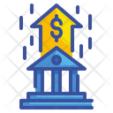 Bank growth Icon