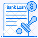 Bank Loan Loan Application Loan Agreement Icon