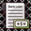 Bank Loan Corporate Loan Loan File Icon