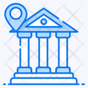 Bank Location Bank Address Financial Institution Icon