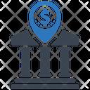 Bank Location Location Bank Icon