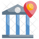 Bank Location Spot Position Icon
