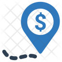 Location Pin Budget Icon