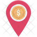 Bank Location Map Pin Location Pin Icon