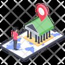 Bank Location App Icon