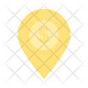 Bank Location on Map Icon