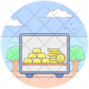 Bank Locker Cash Box Bank Vault Icon