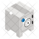Bank Locker Safe Cabinet Money Locker Icon