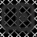 Saving Safe Open Icon