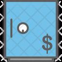 Money Safe Flat Icon