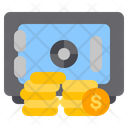 Bank Locker Safe Box Locker Icon