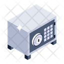 Bank Locker Safe Box Locker Icon