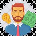 Bank Manger Icon