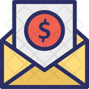 Bank Paper Inbox Business Icon