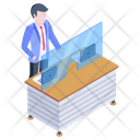 Bank Reception Icon