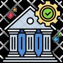 Bank Regulation Bank Regulation Banks Conditions Icon