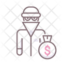 Bank Robbery Robbery Bank Theift Icon