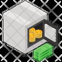 Bank Safe Safe Box Locker Icon