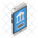 Bank Security Secure Banking Mobile Banking Icon