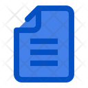 Paper Document Business Icon