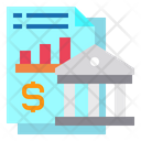 Banking Finance Graph Icon