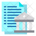 Banking Finance File Icon