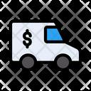 Truck Money Banking Icon