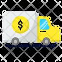 Money Transporter Banking Transporter Bank Icon