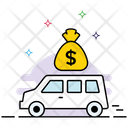 Money Van Bank Van Encashment Service Icon