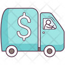 Bank Van Cash Van Armored Vehicle Icon