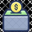 Bank Vault Money Box Savings Icon