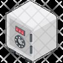 Bank Vault Bank Lockers Safe Deposit Box Icon