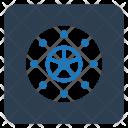 Locker Vault Bank Icon