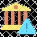 Bank Warning Icon