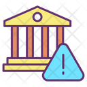 Bank Warning Icon