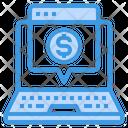 Laptop Financial Icon