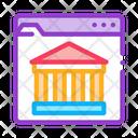 Ancient Building Web Icon