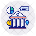 Bank Wire Transfer Icon