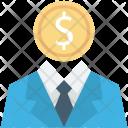Banker Businessman Businessperson Icon