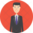Banker Character Profession Icon