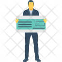 Banker Cheque Accountant Icon